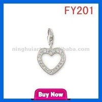A Arrow Wear Heart Alphabet Letter China Pendant Wholesale