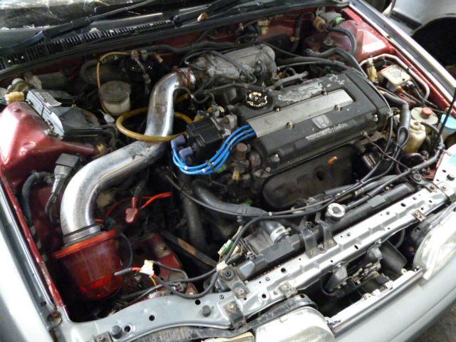 Jdm Front Clip / Halfcut For Car Honda Integra Da6 B16a Dohc Vtec ...