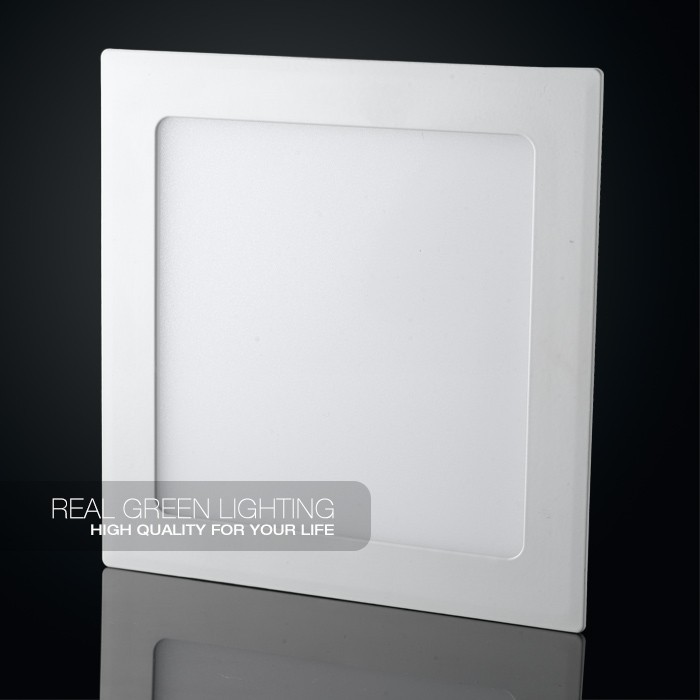 15W Square LED Ceiling Office Panel Lighting