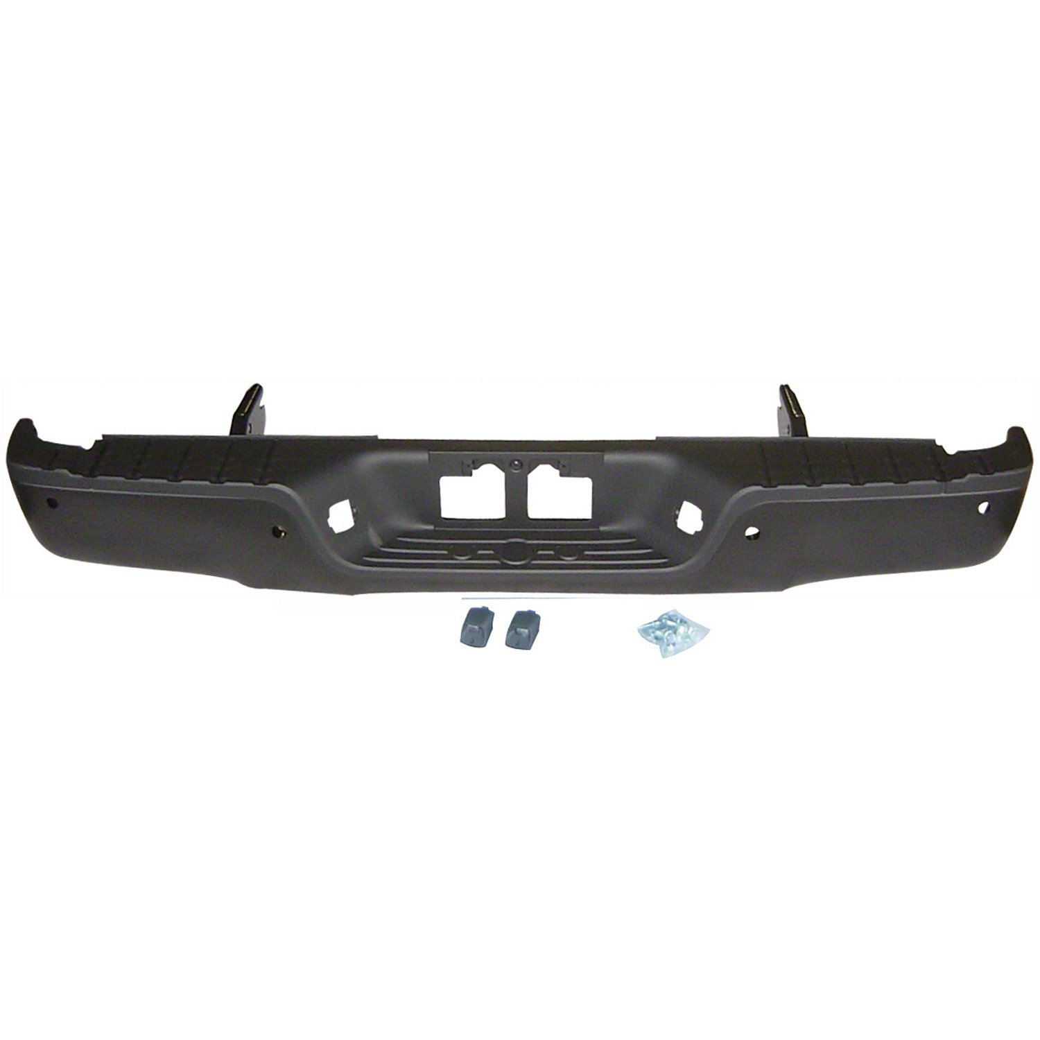New TO1191101 Rear Black Bumper Face Bar Step Pad for Toyota Tundra 2007-2013