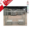 Modern Discount Second Hand school furniture metal double box bed