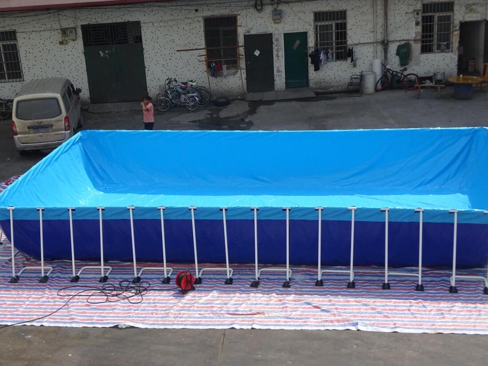 2017 New Design Rectangular Above Ground Swimming Pool Indoor Portable Pools Used For Sale Intex
