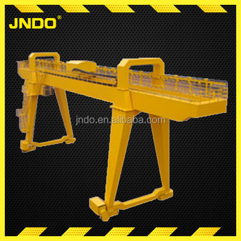 100 ton double beam container port gantry crane