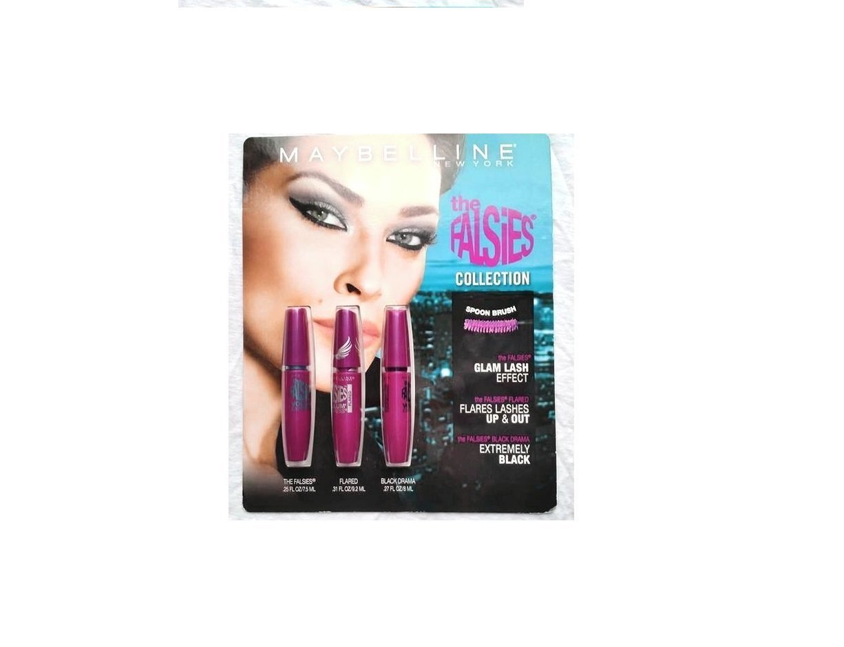 48bc0b8f991 Get Quotations · Maybelline New York the Falsies Collection (Pack of 3)