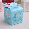 Luxury Custom Laser Cut Paper Wedding Candy Box in China