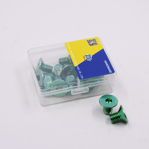 small package plastic box packing hexagon socket countersunk flat head machine screws