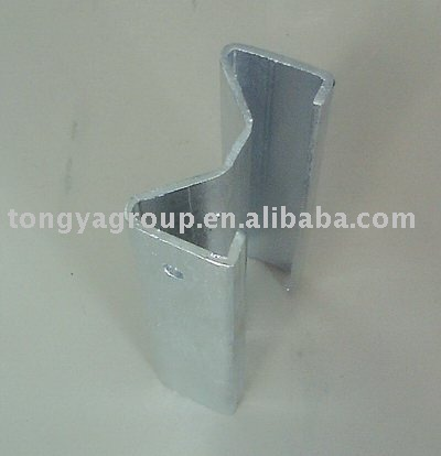 Steel Hot-dip galvanized guardrail post sigma
