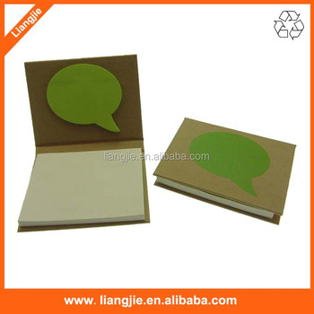 Combined Craft Paper Cover Neon Green Balloon Shaped Sticky Notes ...