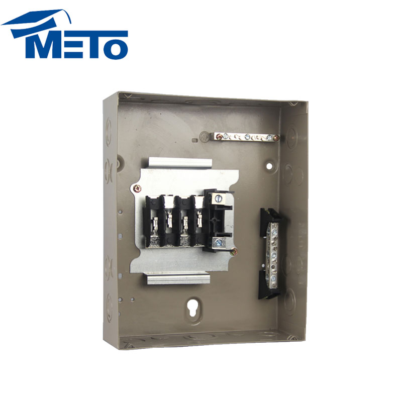125 Amp 8 way single phase panel box electrical panel board types of electrical distribution box
