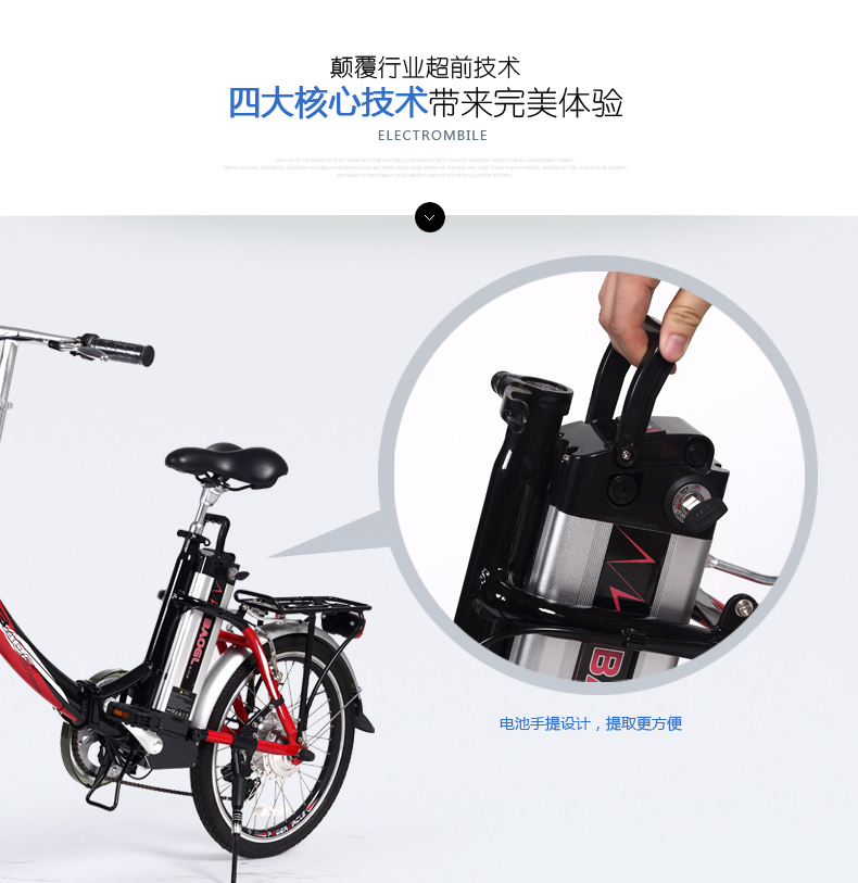 EN15194 certificate 20inch aluminum lithium electric bike 250W