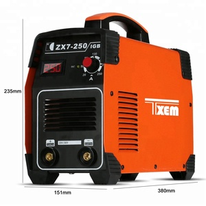 ZX7-250E IGBT Inverter Electric Mexico AC 110v Mini Portable MMA-200 ARC STICK Welders