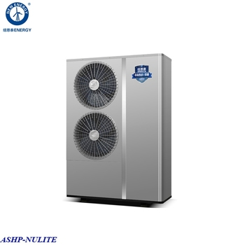 Hot selling air water all in one 12kw dc inverter heat pump
