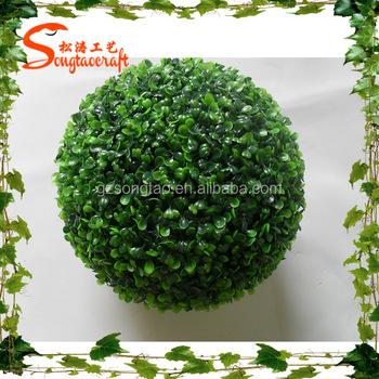 Handmade Can Be Customized All Types Plastic Grass Ball Garden Classy Decorative Grass Balls
