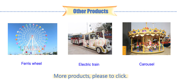 New amusement rides TUV certificated electric trackless train rides