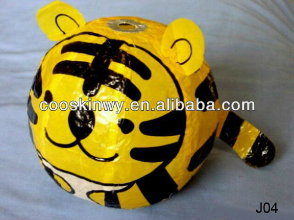 Beautiful tiger shaped Blow japanese lanterns for sale