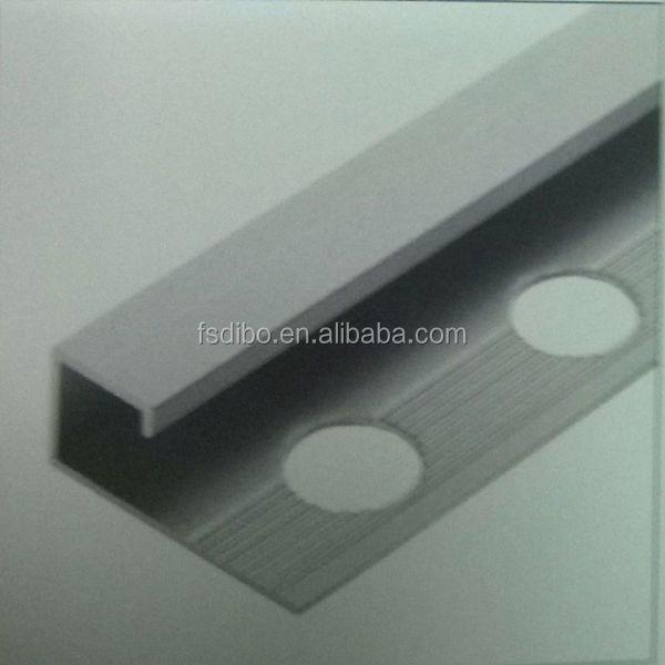 aluminium pulverbeschichtet bodenprofil f r fliesen schneiden teile der pozellan produkt id. Black Bedroom Furniture Sets. Home Design Ideas