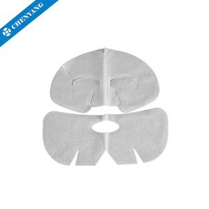 Natural nonwoven materials OEM Alginate facial mask sheet