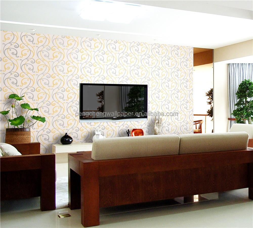 Wanddecoratie behang/slaapkamer decoratie wallpaper/glanzende ...
