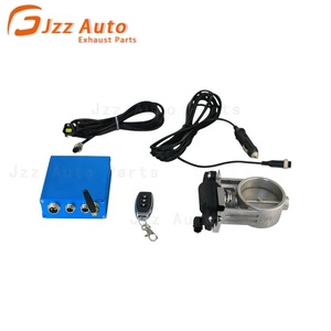 "JZZ 2.25"" 2.5"" 3"" Electric Stainless Exhaust Cutout Cut Out Valve / switch with Remote control for bmw valve muffler"