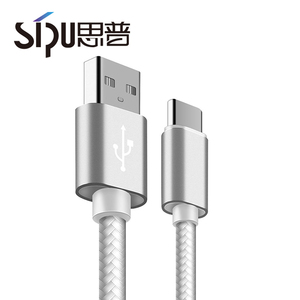 SIPU High Quality Quick Charging for Samsung Galaxy S8 S9 Sync Data Mobile Phones Android Type C Charging Usb Cable