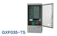 Outdoor fiber optic distribution cabinet for network and telecommunication
