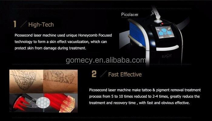 GOMECY Tattoo removal machine picosure pico laser Nd Yag laser