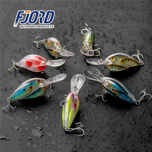 FJORD Wholesale in stock 65mm 19g hot new products china innovative fishing bait wholesale crank fishing lures crank bait