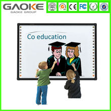 "65 "" to 130 "" multi users 6 to 10 touch points infrared interactive whiteboard prices /price smart board school supplies sell"