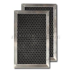 "GE Carbon Range Hood Filter - 4-7/8"" X 7-3/4"" X 3/8 - WB02X10776"