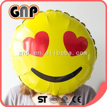 Birthday Party Decorations Emoji Helium Balloons