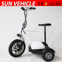 500W 48V 3 wheels zappy electric scooters for adult with CE
