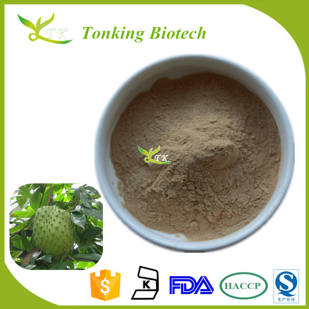 Herbal extract Powder Graviola Fruit Cancer