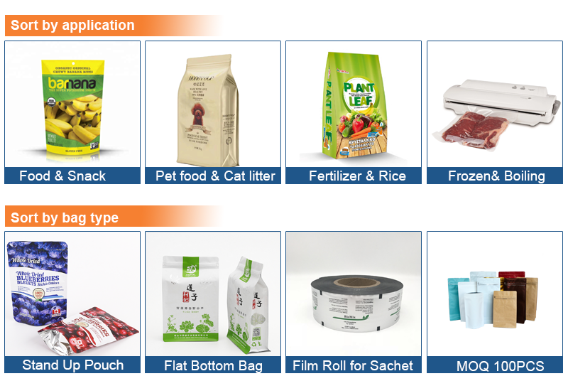 Food Vacuum Laminating Packaging Bags