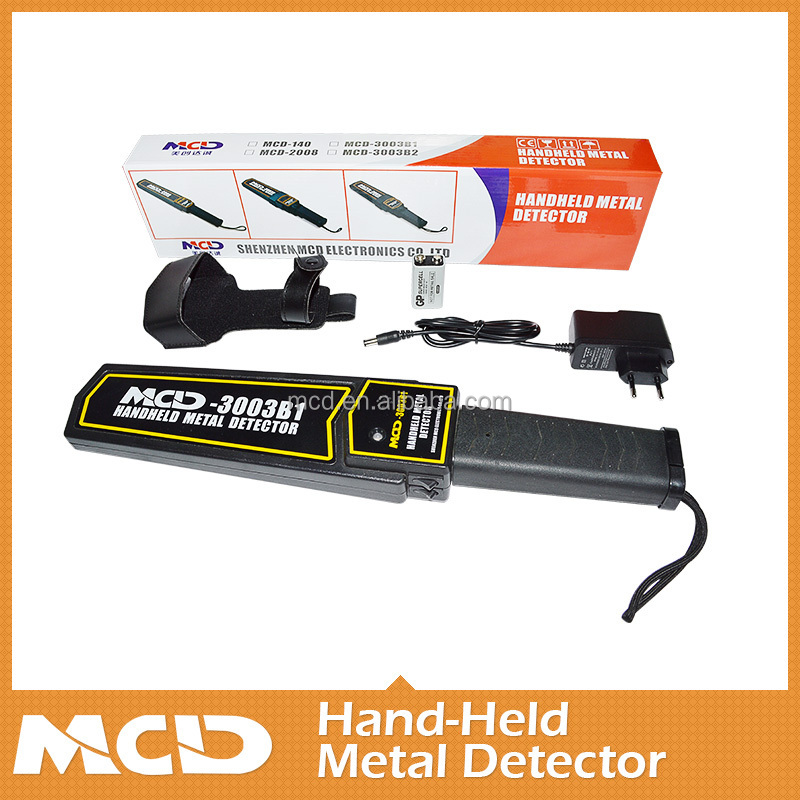 Stable Performance Handheld Metal Detector With Sound / Vibration ...