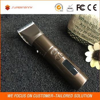 Small size manual hair trimmer and easy use cordless hair clipper best for men