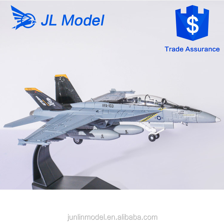 2005 USA F-18 F A-18 F Super Hornet 1 100 scale handmade airplane model