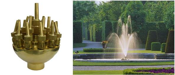 Buse d/'eau Sprinkler Bec de Fontaine D/'eau en Laiton Nozzle Pompes Solide