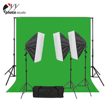Photographic equipment 50x70cm continuous lighting kit softbox
