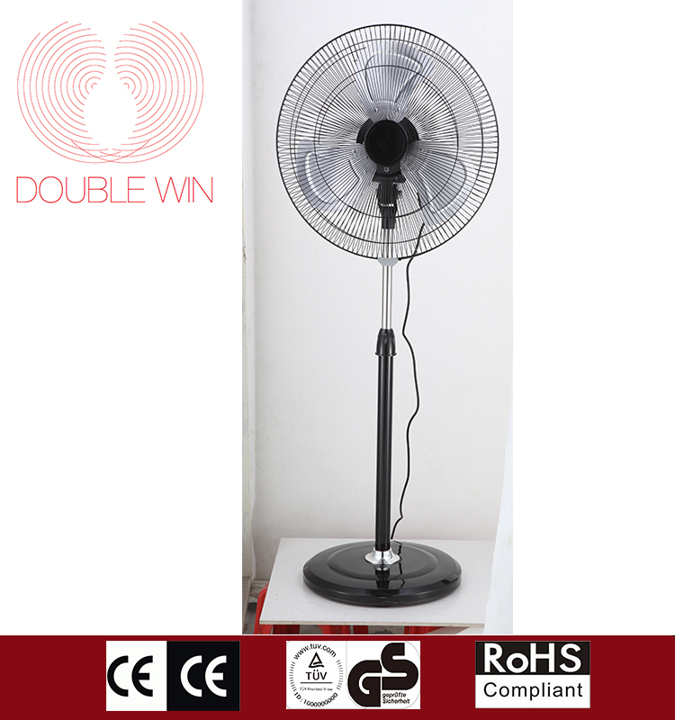 "Hot selling Home appliances large air flow 16"" stand fan with low noise"