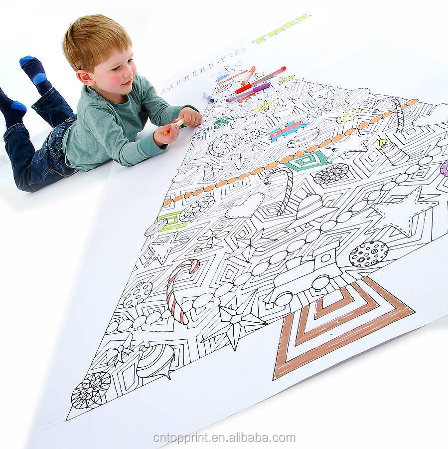 Giant Wall Size Coloring Posters For Kids - Buy Coloring Posters ...