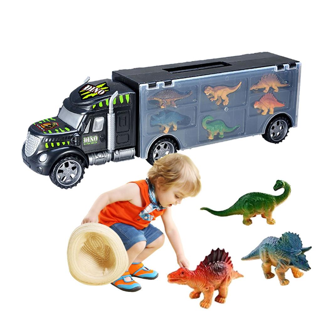 Dinosaure En Dinosaures Voiture Avec Enfants Jouet Garçon Camion Pour 6 Gros Jouets Cadeaux Transport txshCrdBoQ