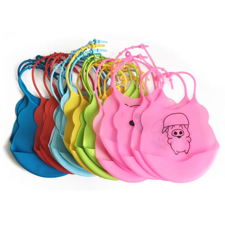 Oganic bid baby, eco-friendly soft silicone baby bibs with pocket, manufacturer baby bib