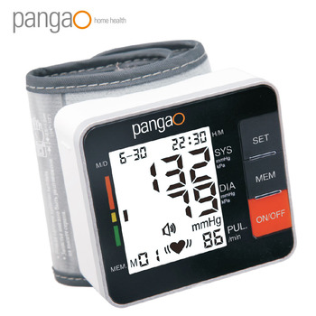 Pangao Standing Electronic Wireless Wrist Watch Blood Pressure Monitor, Hospital Blood Pressure Monitor Manufacturers
