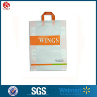 Plastic Gift Shopping Carrier Bags Merchandise Bags for T-shirts and clothes