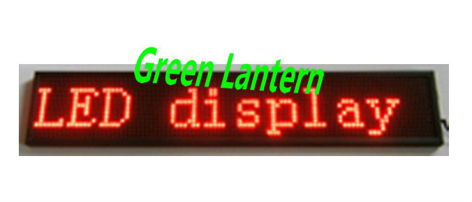 P10 Red Electronic Scrolling LED Programmable Sign