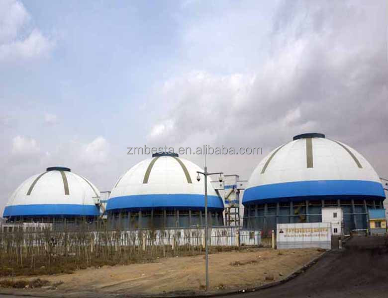 Good Quality Steel Structure Prefab Dome shed/new style cheap arched frame/prefabricated workshop