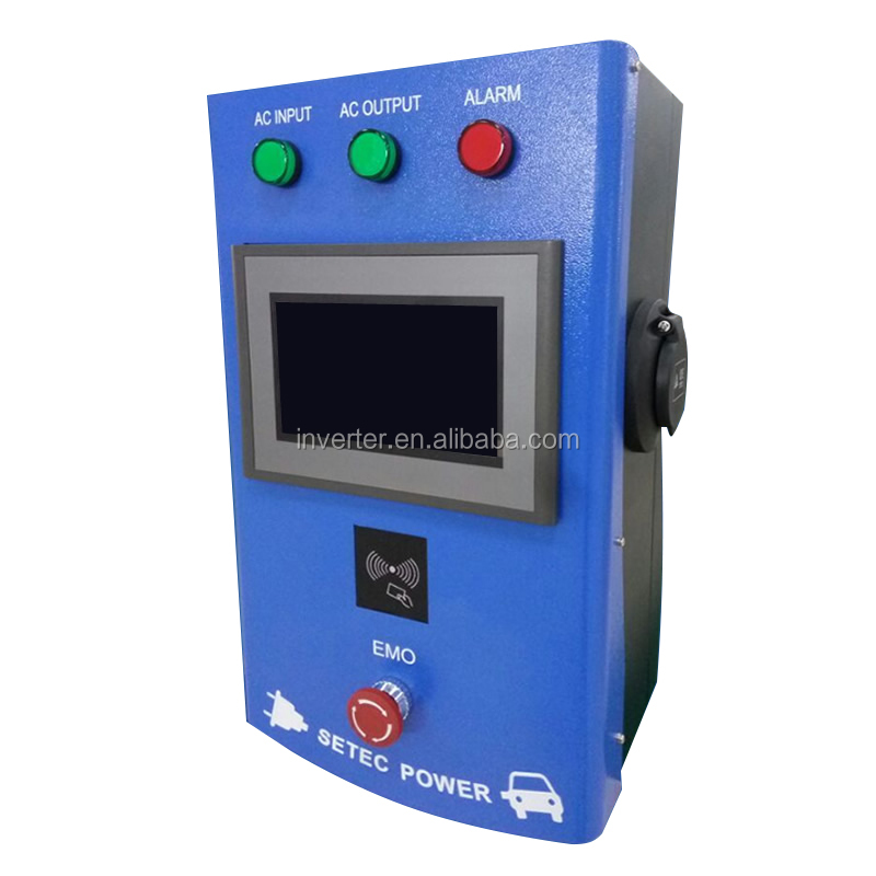 7kw AC TYPE 2 CHARGER EV quick Charging Station CHAdeMO/CCS SETEC EVCharger 7KW-130KW