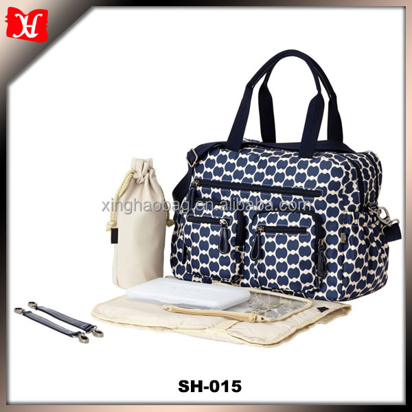 Fashion Custom Diaper Bags Satchel Outdoor Travel Baby Carry Cot Bag onling shopping