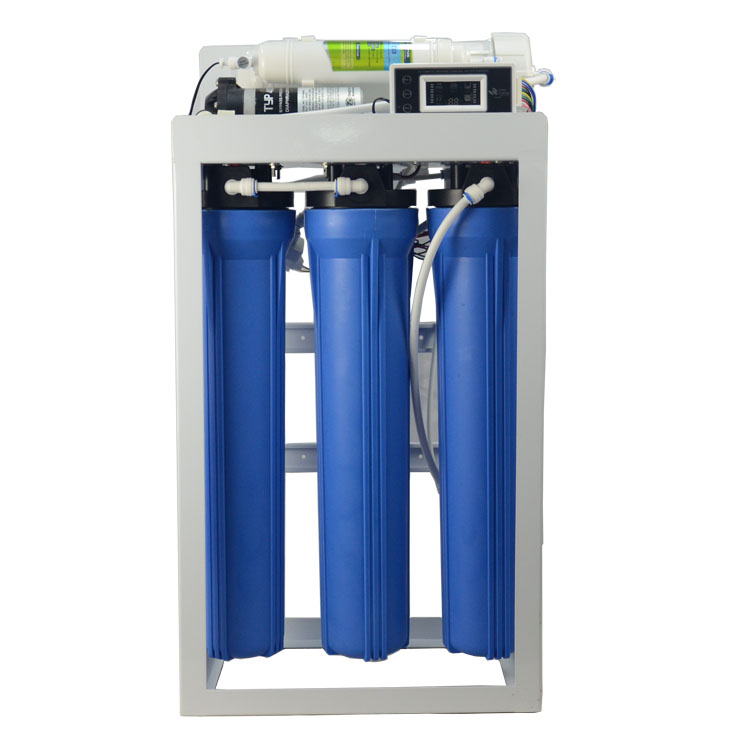 400 GPD Commercial Reverse Osmosis Water Filter System wtih 11 Gallon Tank with inline Digital TDS PPM monitor meter