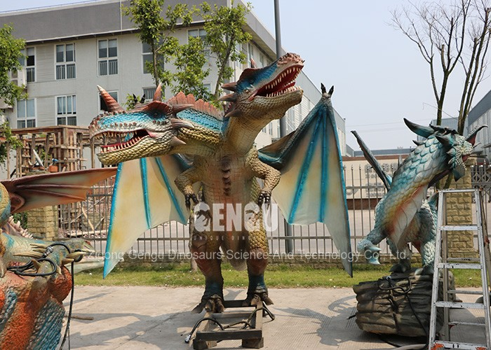 Custom Monster Statue Life Size Dragon Statue